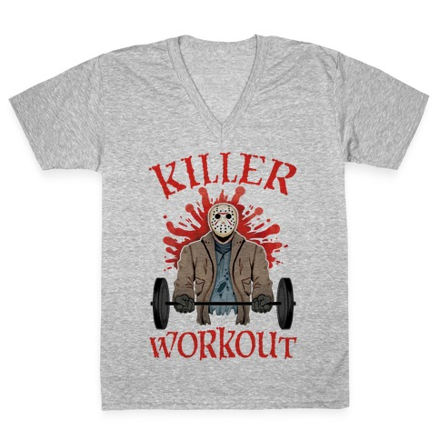 Killer Workout V-Neck Tee Shirt
