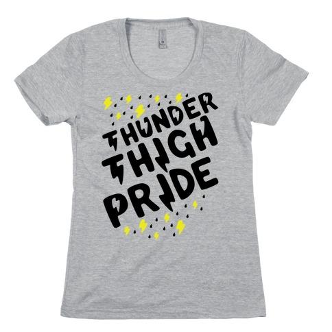 Thunder Thigh Pride Womens T-Shirt