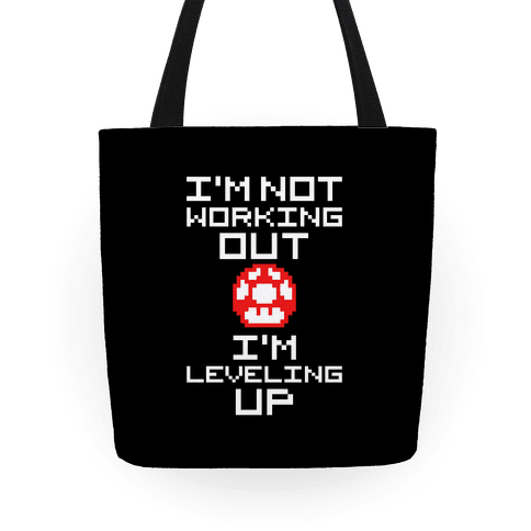 I'm Leveling Up Tote