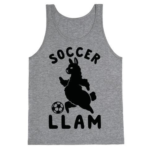 Soccer Llam Tank Top
