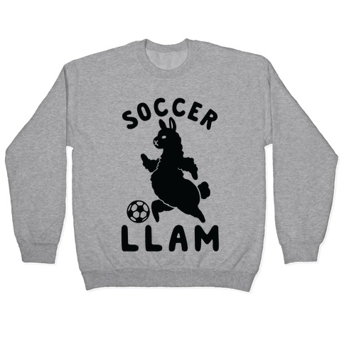 Soccer Llam Pullover