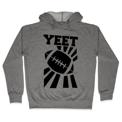Yeet - Football Hooded Sweatshirt