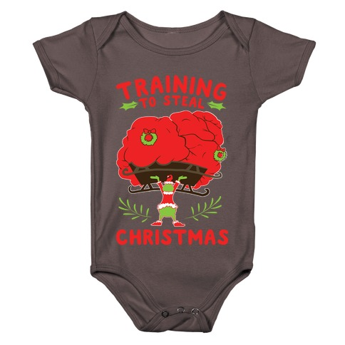 Training to Steal Christmas Baby One-Piece