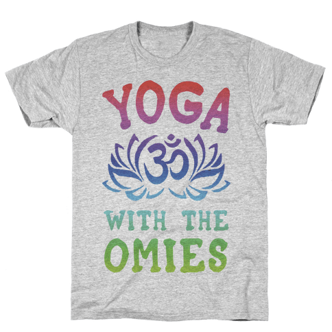 Yoga With The Omies Mens T-Shirt