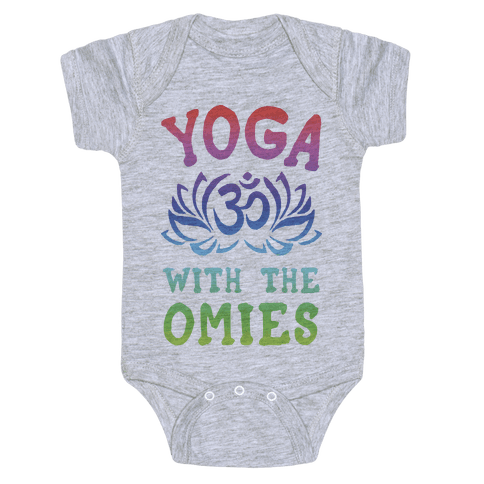 Yoga With The Omies Baby Onesy