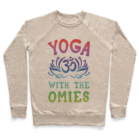 Yoga With The Omies Pullover