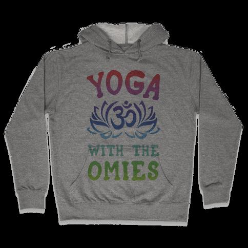 Yoga With The Omies Hooded Sweatshirt