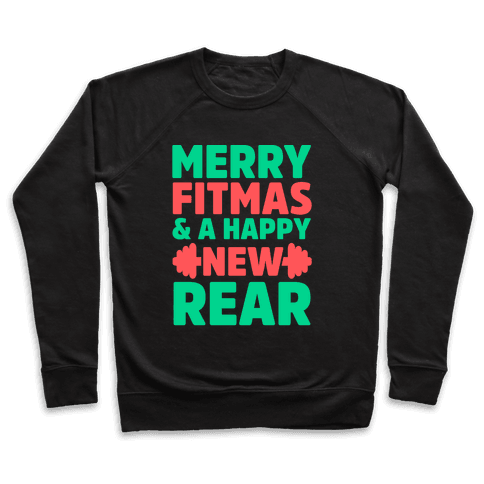 Merry Fitmas and a Happy New Rear Pullover
