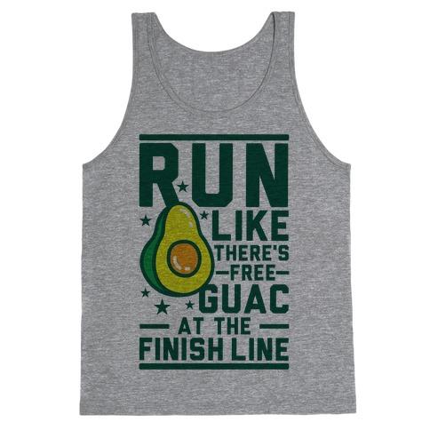 Run Like There's Free Guac Tank Top