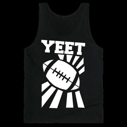 Yeet - Football Tank Top