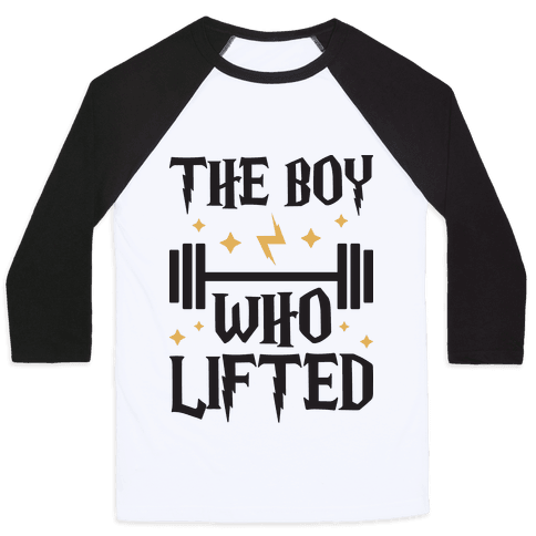 The Boy Who Lifted Baseball Tee