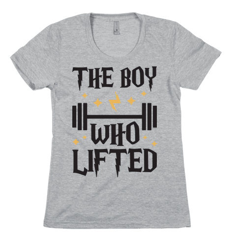 The Boy Who Lifted Womens T-Shirt