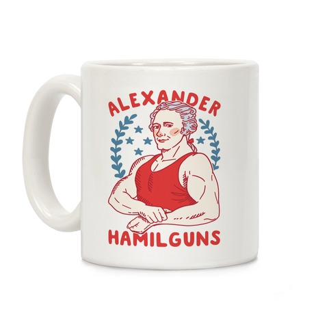 Alexander HamilGUNS Coffee Mug