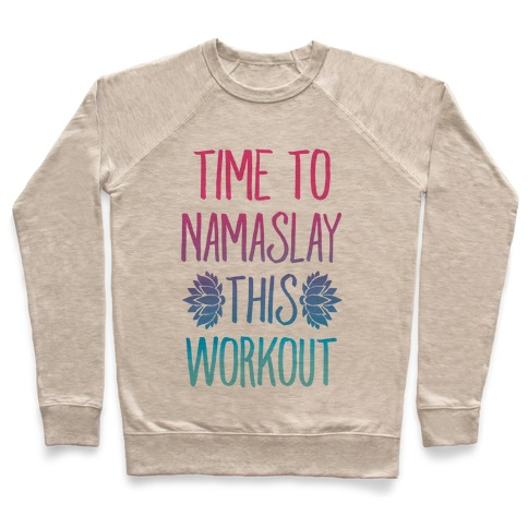 Time To Namaslay This Workout Pullover
