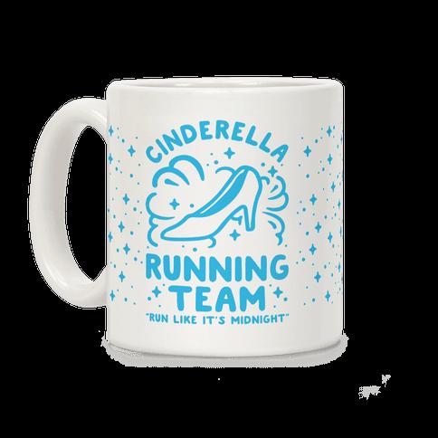 Cinderella Running Team Coffee Mug