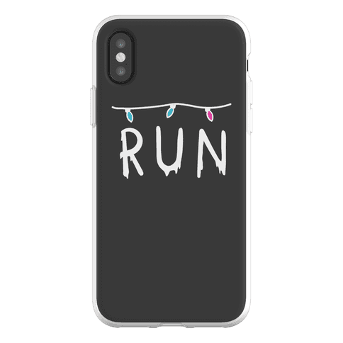 Run Stranger Things Phone Flexi-Case
