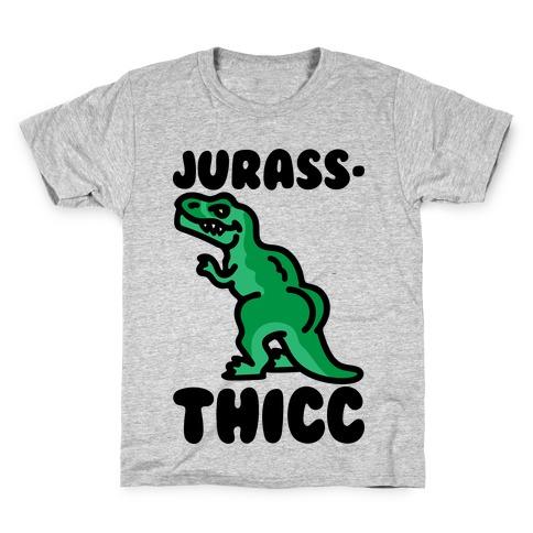 Jurassthicc Parody Kids T-Shirt