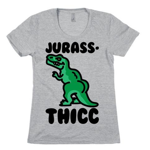 Jurassthicc Parody Womens T-Shirt