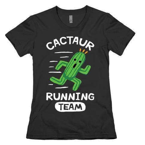 Cactaur Running Team Womens T-Shirt