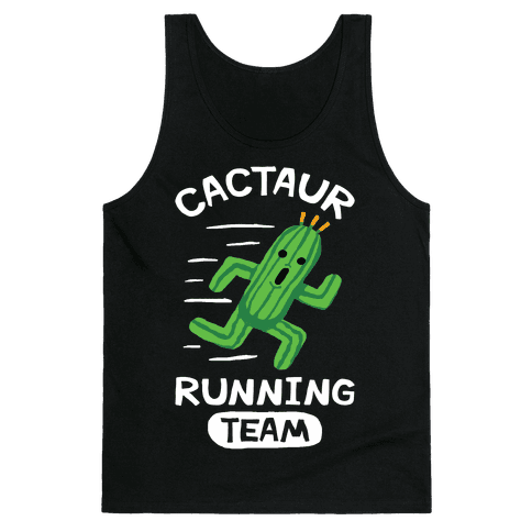 Cactaur Running Team Tank Top