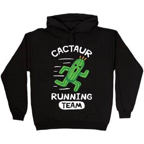Cactaur Running Team Hooded Sweatshirt