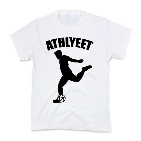 Athlyeet Soccer  Kids T-Shirt
