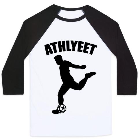 Athlyeet Soccer  Baseball Tee