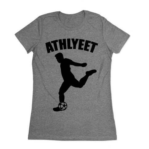 Athlyeet Soccer Womens T-Shirt