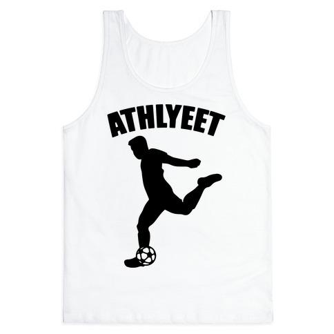 Athlyeet Soccer  Tank Top