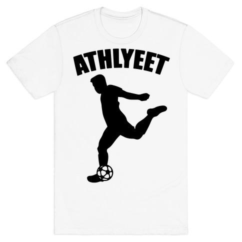 Athlyeet Soccer  T-Shirt