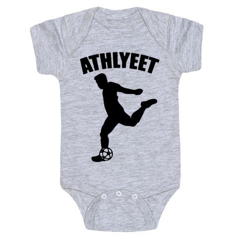 Athlyeet Soccer  Baby Onesy