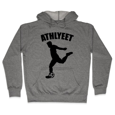 Athlyeet Soccer Hooded Sweatshirt