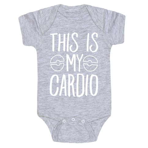 This Is My Cardio Baby Onesy