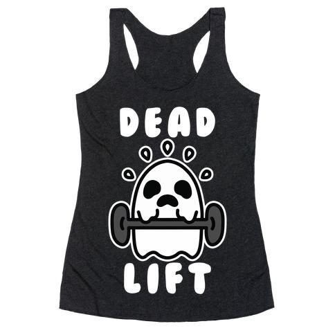 Dead Lift (Ghost) Racerback Tank Top