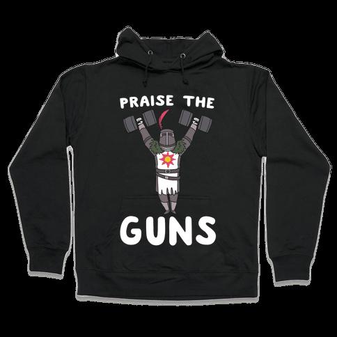 Praise the Guns - Dark Souls Hooded Sweatshirt