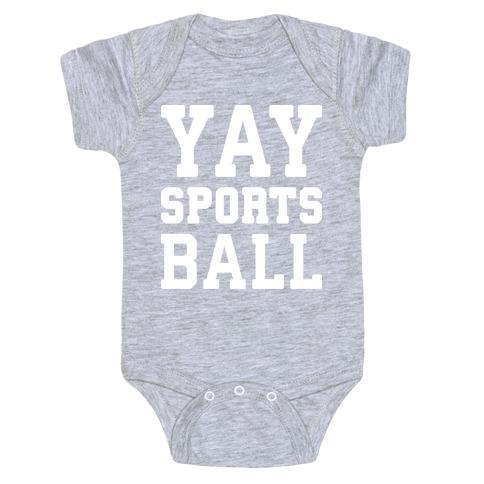 Yay Sports Ball Baby Onesy