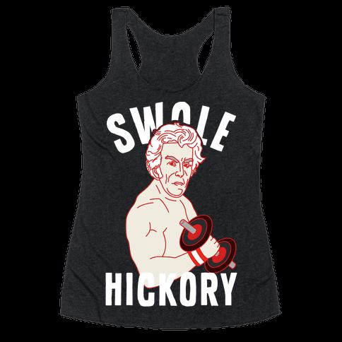 Swole Hickory Racerback Tank Top
