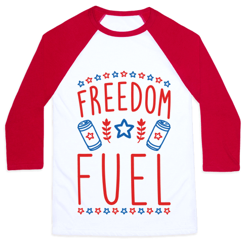 Freedom Fuel Baseball Tee