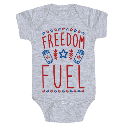 Freedom Fuel Baby Onesy