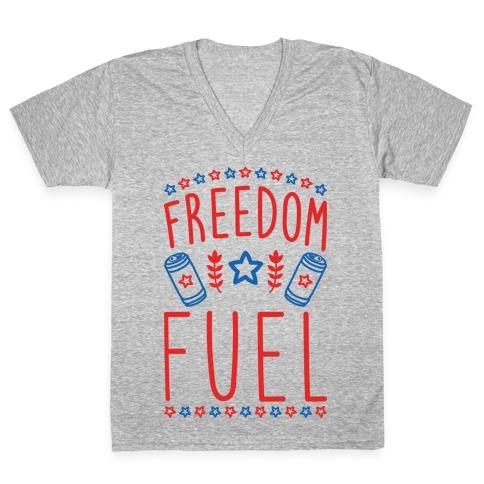 Freedom Fuel V-Neck Tee Shirt