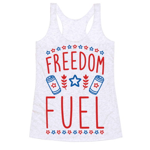 Freedom Fuel Racerback Tank Top