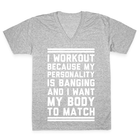 My Personality is Banging V-Neck Tee Shirt