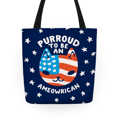 Purroud to be an Ameowrican Tote