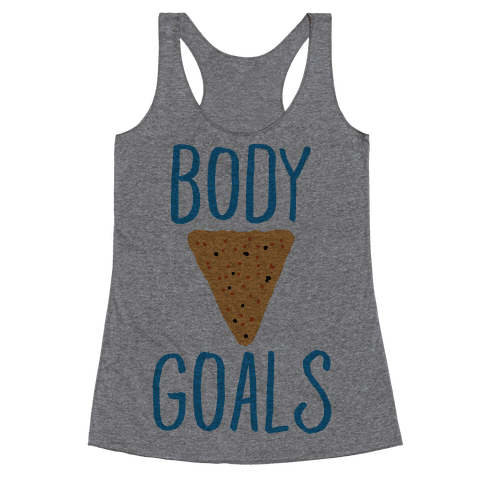Body Goals Racerback Tank Top