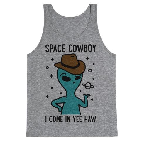 Space Cowboy Alien Tank Top