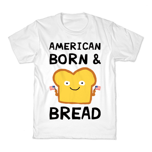 American Born And Bread Kids T-Shirt