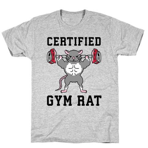 Certified Gym Rat T-Shirt