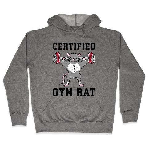 Certified Gym Rat Hooded Sweatshirt