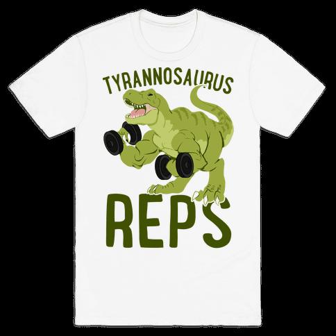 Tyrannosaurus Reps Mens/Unisex T-Shirt