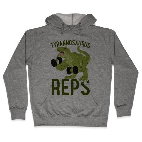 Tyrannosaurus Reps Hooded Sweatshirt